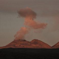 Vulkan Sabancaya beobachtet am Laguna MucurcaFoto:©Lichtbildarena