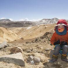 Härtetest am Minasniyuq (4800 m) - hier ist's wirklich sau kaltFoto:©Lichtbildarena
