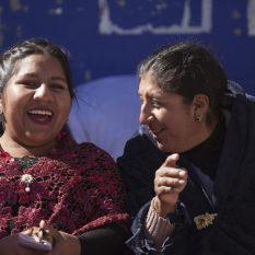 Heitere Frauen in OrcopampaFoto:©Lichtbildarena
