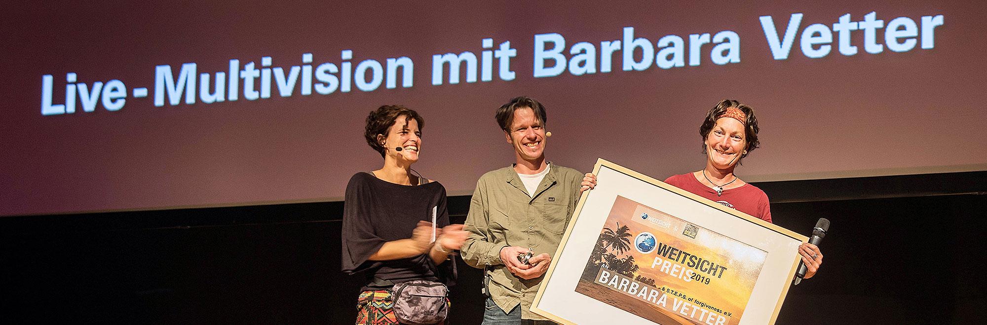 Weitsicht-Preisverleihung zum Festival in Darmstadt, 2019